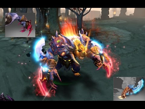 dota 2 ursa mix set swift claw immortal infused claws of the