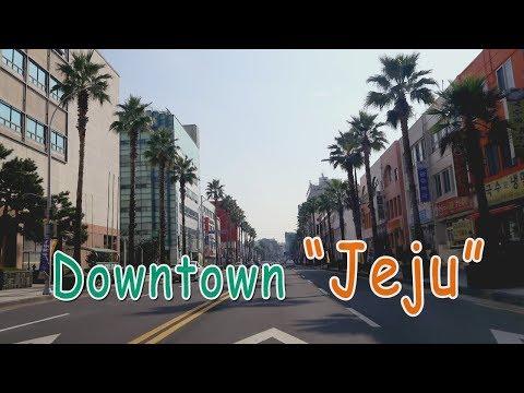 Old Downtown Jeju (Jungangno), South Korea   구제주 둘�