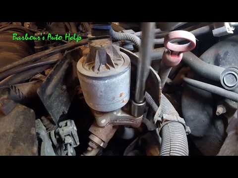 How to replace an EGR valve on a GM 3.8L V-6 series 2