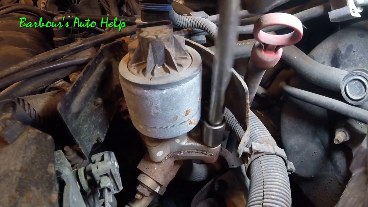hight resolution of how to replace an egr valve on a gm 3 8l v 6 series 2