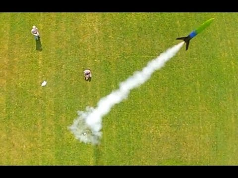 Model Rocket Launch Compilation - YouTube