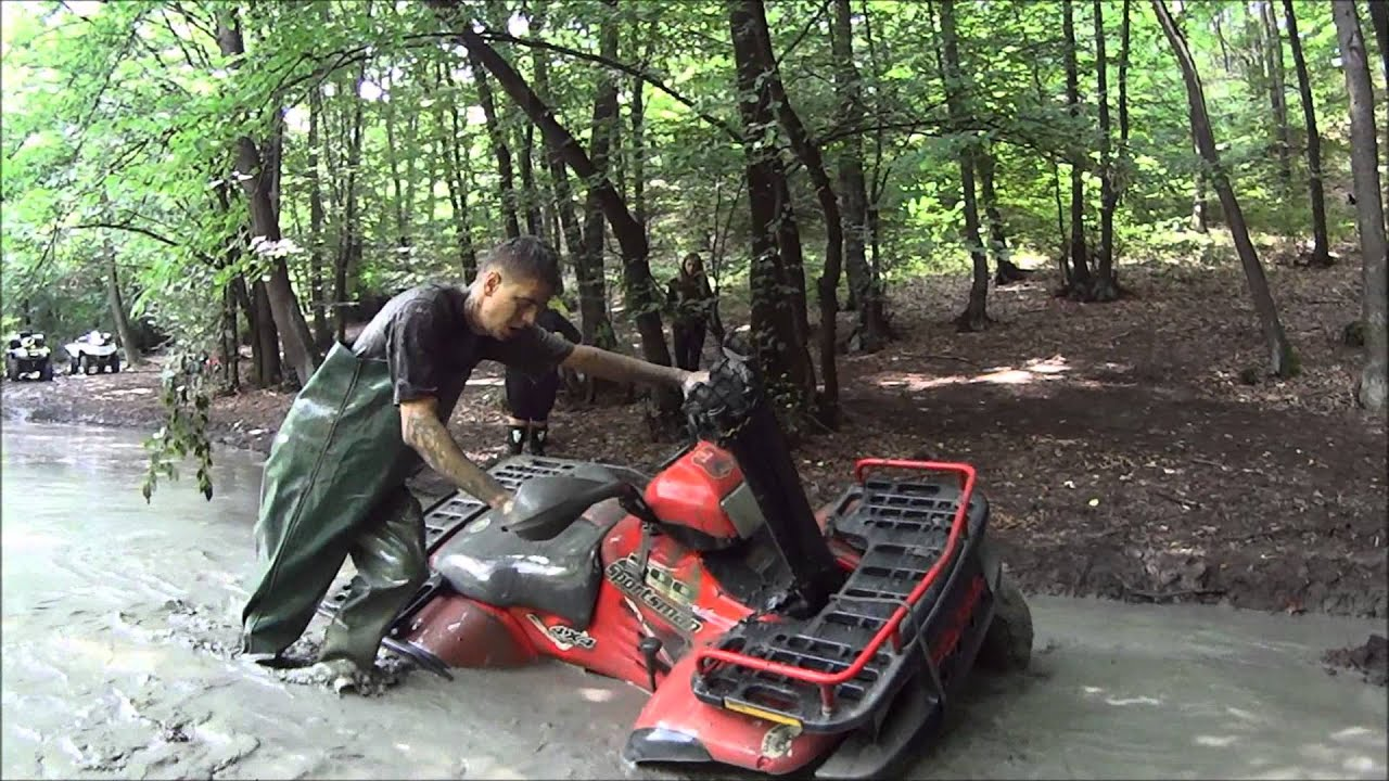 Polaris Sportsman 500 Snorkel Testing Youtube
