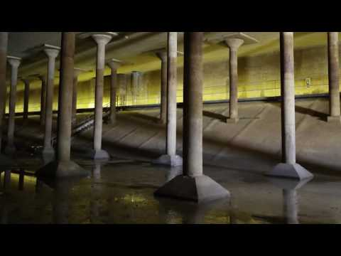 Houston's Buffalo Bayou Park Cistern
