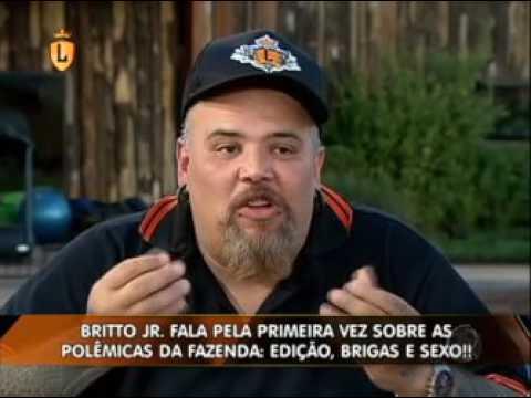 Britto Jr conta tudo sobre a nova temporada da Fazenda para João Gordo  #arquivolegendários