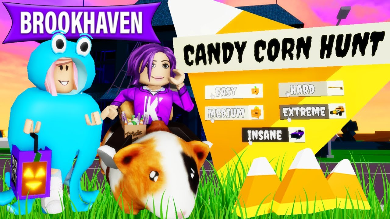 Download We found all the candy corn in Brookhaven!   Roblox Brookhaven Halloween Event 🎃
