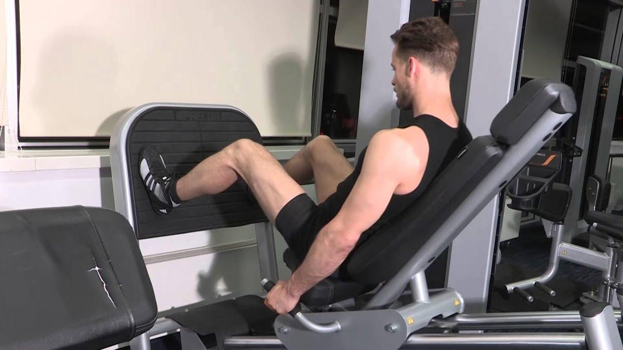 Presse cuisses variante exercice de musculation jambes for Exercices pour interieur des cuisses