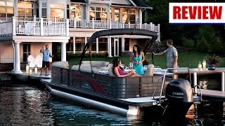 Pontoon Boat Reviews: 2016 Bar & Galley from Bennington Pontoon Boats
