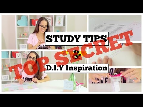 TOP SECRET STUDY TIPS to get a competitive edge and make you an A+ student!
