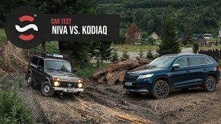 Lada Niva vs Škoda Kodiaq Scout - Startstop.sk - TEST