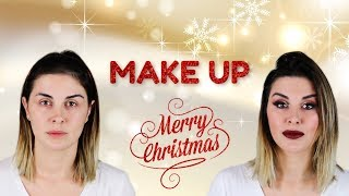 Maquillaje para Navidad 2018/2019 - (MAKE UP CHRISTMAS) - Transformation- Merche Gutiérrez