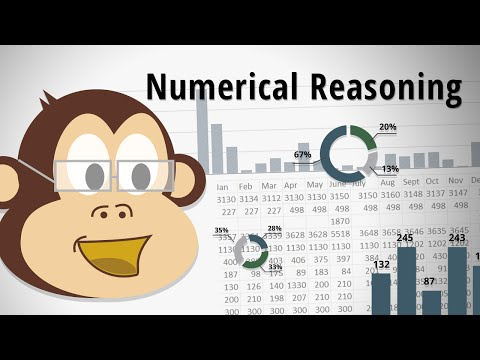 Kenexa Style Numerical Test VIDEO TUTORIALS - solving a problem based on a pie chart