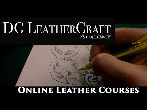Online Leather Classes with DG LeatherCraft Academy