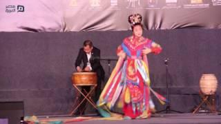 مصر العربية | جانب من عرض الصين بمهرجان الطبول في القلعة