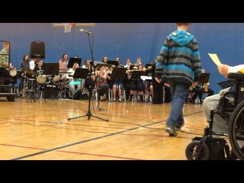 Sandwich Middle School Jazz Band, 2-26-2015: Count Me In