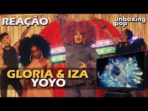 REACT  GLORIA GROOVE & IZA - YOYO