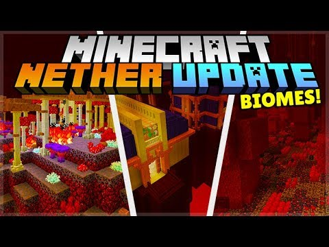 Minecraft Nether Update 1 16 Nether Biomes Inspired By Community Mods Youtube