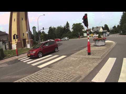 Motorbiking from Bertrange to Capellen (Luxembourg)- GoPro Hero 3 White (Honda CBR250R)