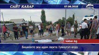 Сайт кабар | Бишкекте эки адам люкта тумчугуп өлдү