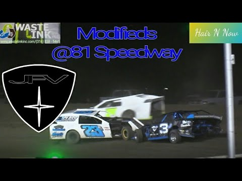 Modifieds #20, Full Race, 81 Speedway, 08/25/18