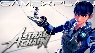Astral Chain - Exploration Gameplay (Taking Selfies in Photo Mode & Returning a Lost Cat!)