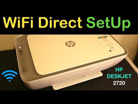 HP Deskjet 2720 WiFi Direct SetUp & Wireless Scanning review !!