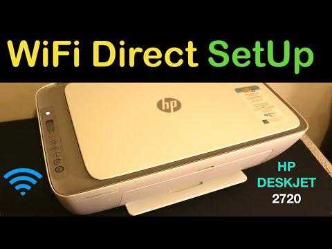 HP Deskjet 2720 WiFi Direct SetUp & Wireless Scanning !!