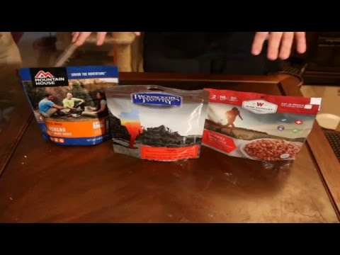Meal Review: Lasagna; Mountain House, Backpackers Pantry, Wise Food