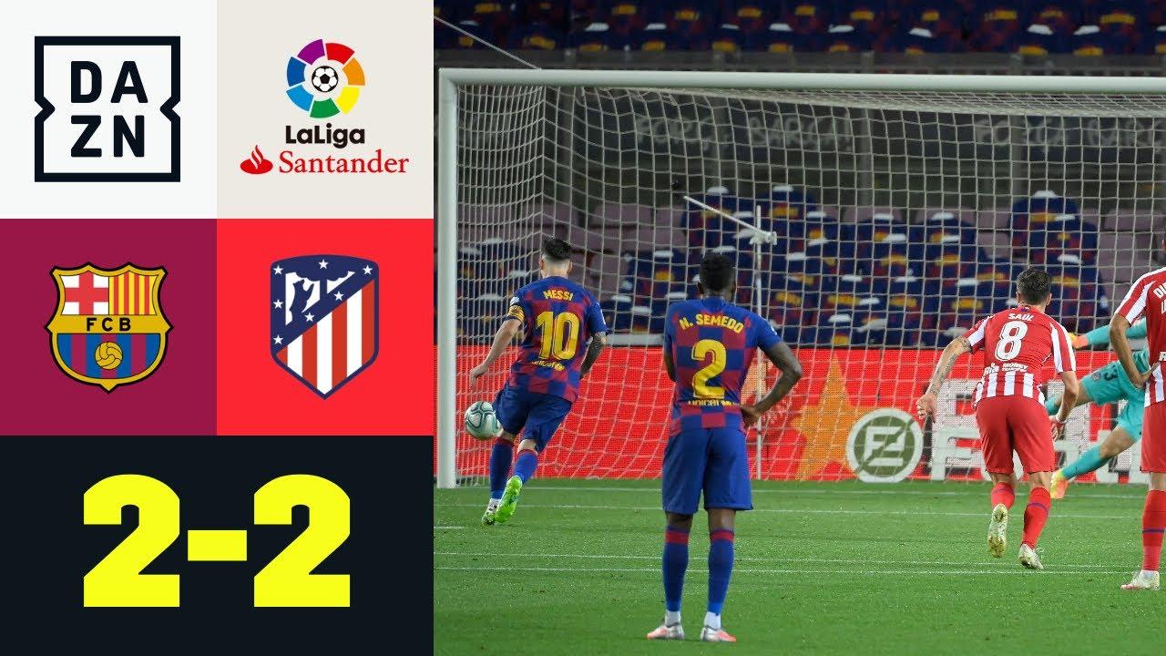 Messi fa 700 ma non basta al Barça: Barcellona - Atletico Madrid 2-2 | LaLiga | DAZN Highlights