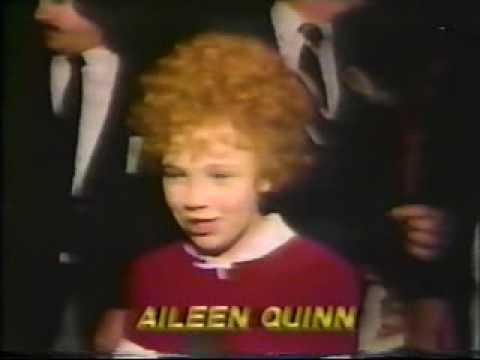 AILEEN QUINN  AT ANNIE MOVIE PREMIERE IN 1982
