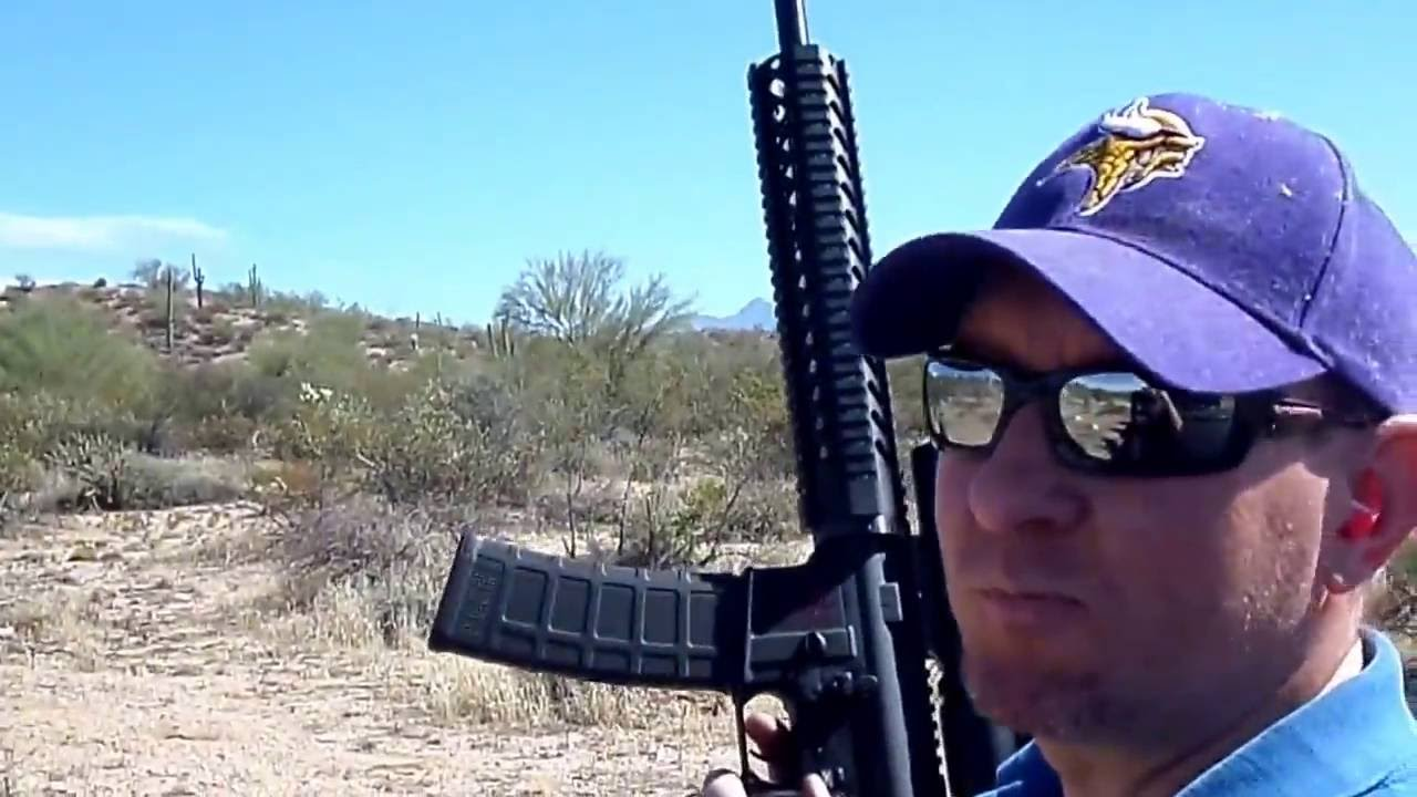 Spikes Tactical AR 15 shooting and review