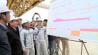 Giao thông kết nối: Không khí thi đua lao động sản xuất trên các công trình giao thông dịp đầu Xuân