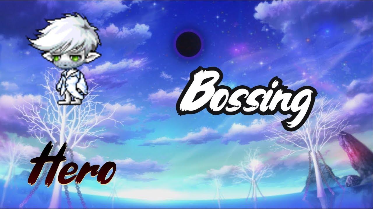 MapleStory [Reboot] Hero Bossing in 2021
