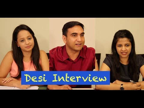 Desi boy in Call Centre Interview - | Lalit Shokeen Films |