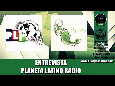 Entrevista para Planeta Latino Radio