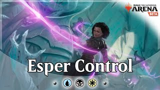 NEW Standard Esper Control Bo1 Constructed Event - MTG Arena Deck Guide and Gameplay