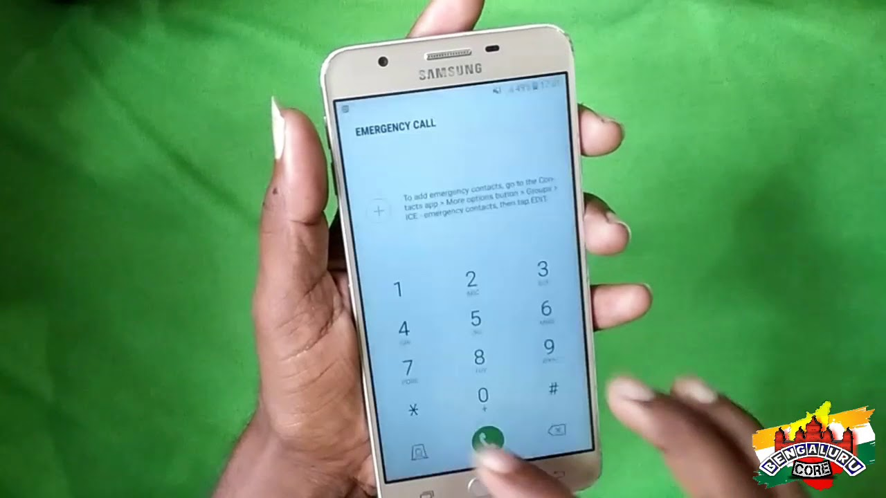 Samsung J7-prime pattern unlock The Core Solutions 100% working