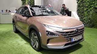 электрокар, электроавто Nexo, выставка электроавто, авто на водороде, авто на топливных элементах