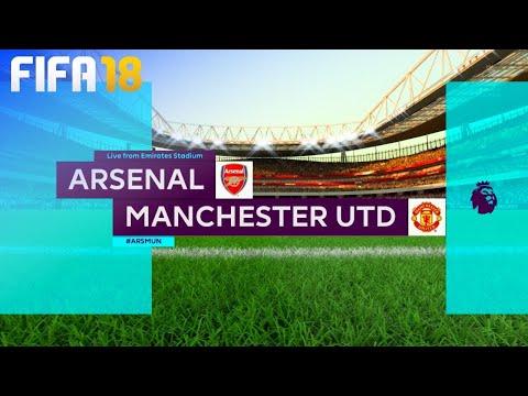 Fifa 18 Arsenal Vs Manchester United @ Emirates Stadium