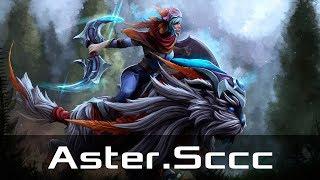 Aster.Sccc — Luna, Safe Lane (Nov 7, 2019) | Dota 2 patch 7.22 gameplay