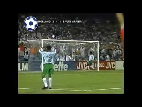 Gaston Taument Goal - World Cup 1994 - Group F | Netherlands