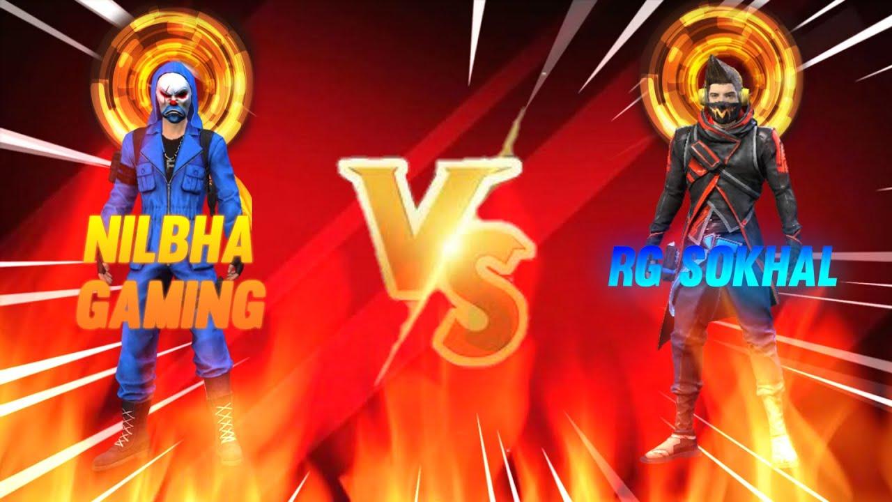 NILBHA GAMING VS RG SOKHAL🥶    PHANTOM GAMERZ   