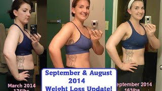 August/September Weight Loss Update - Cymbalta Withdrawal & Tone It Up's #FriskyFall Challenge! Thumbnail