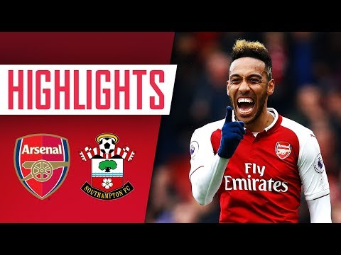 Auba and Welbz steal the show! | Arsenal 3 - 2 Southampton | Goals and highlights