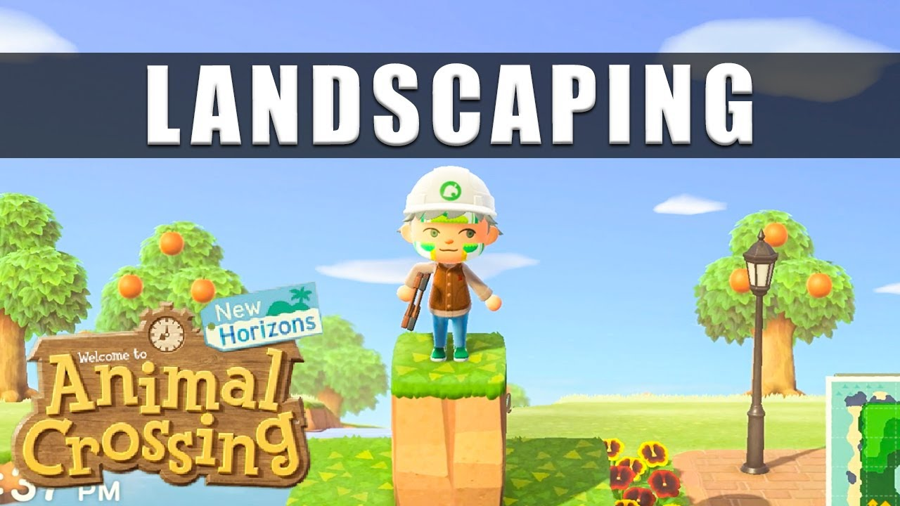 Animal Crossing New Horizons landscaping   How to unlock landscaping and  how to do terraforming