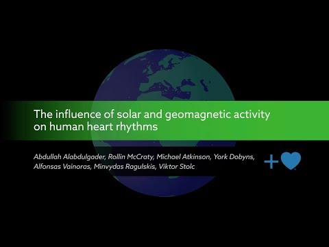 The Influence of Solar and Geomagnetic Activity on Human Heart Rhythms