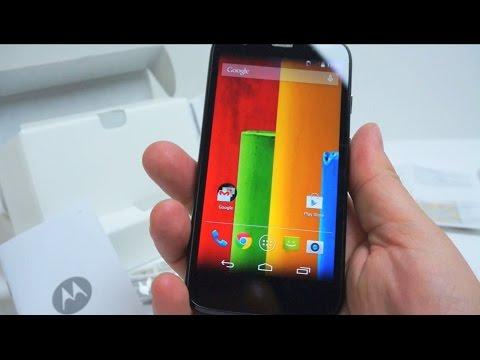 Motorola Moto G - Unboxing & First Run