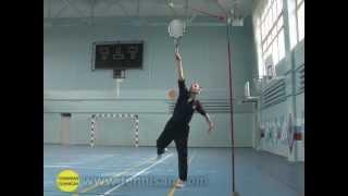 Теннисные тренажеры. Подача (serve). Kids tennis