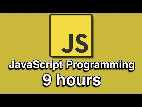 JavaScript Programming All-in-One Tutorial Series (9 HOURS!)