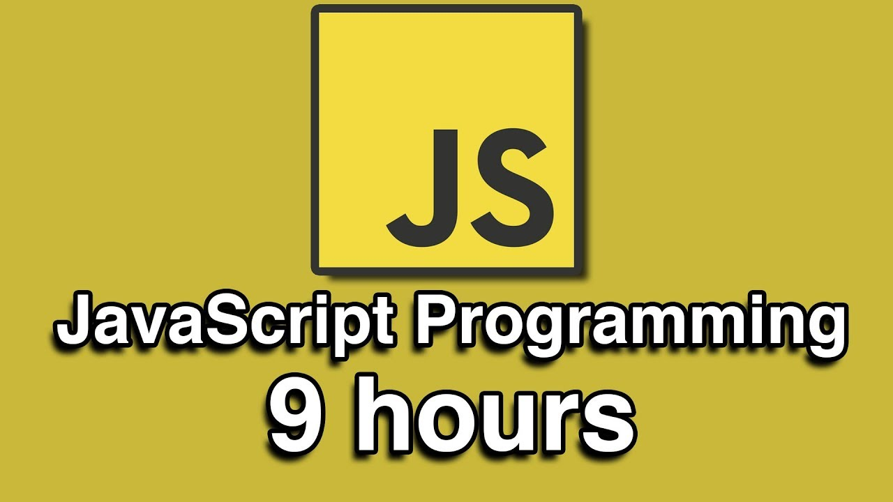 JavaScript Programming All-in-One Tutorial Series for Beginners
