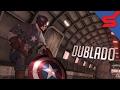 CAPITÃO AMÉRICA NA GUERRA - Dublado | Captain America Super Soldier GAME INTRO